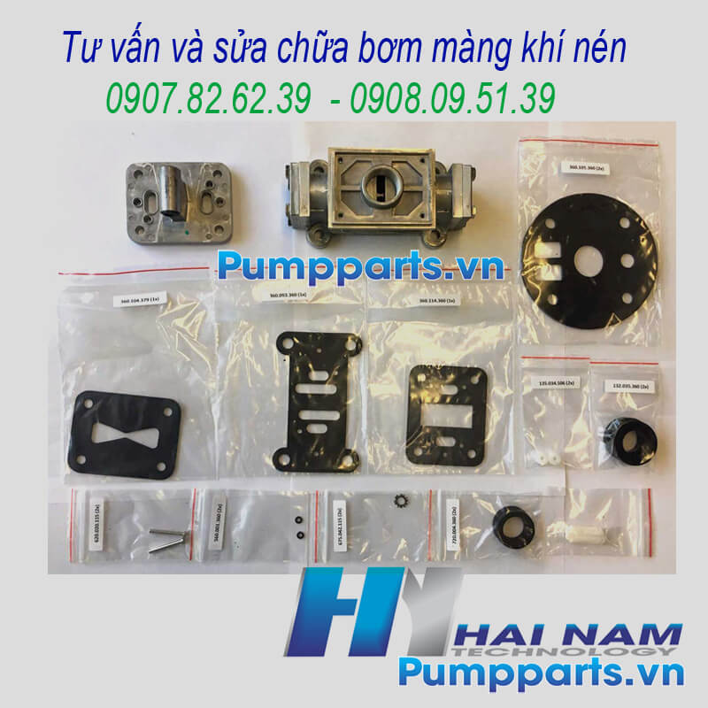 AODD Pump Air Repair Kits: